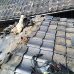 京都市にて屋根修理②