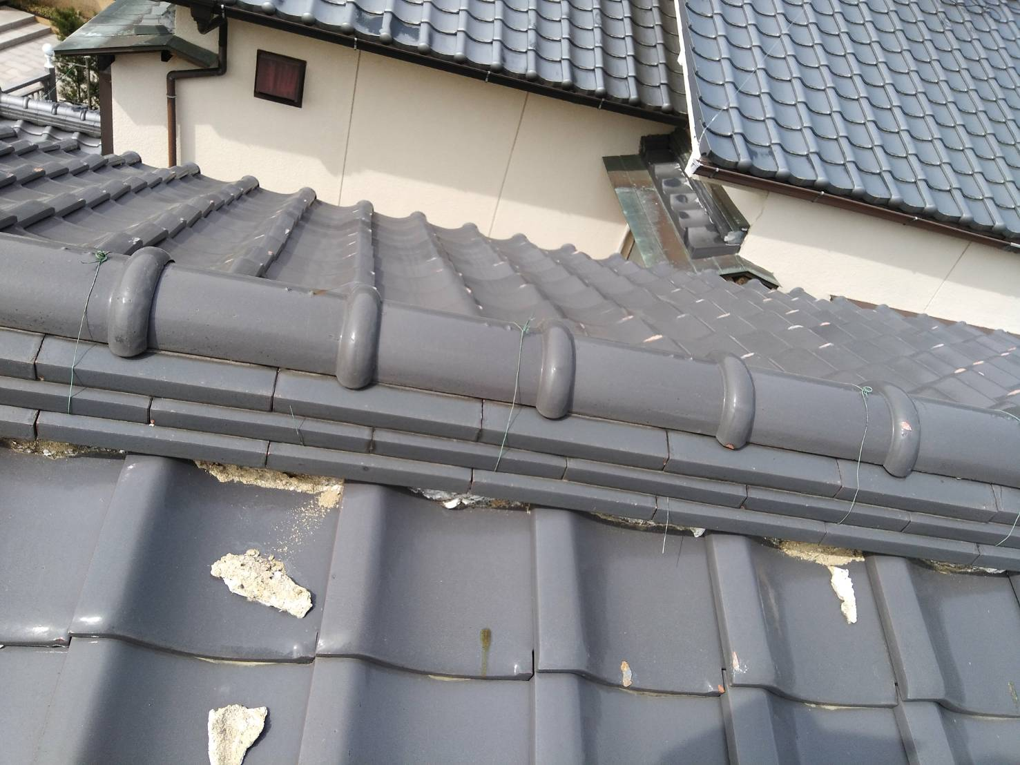 京都市にて屋根修理③