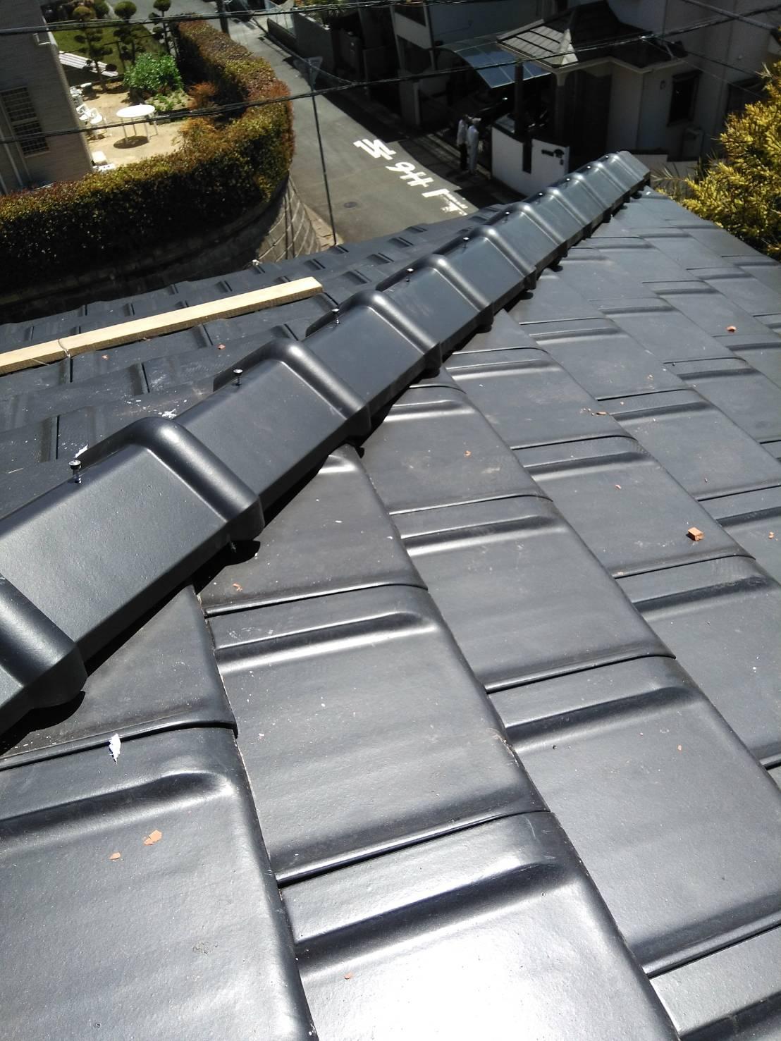 京都市にて屋根工事 ~葺き替え⑥~
