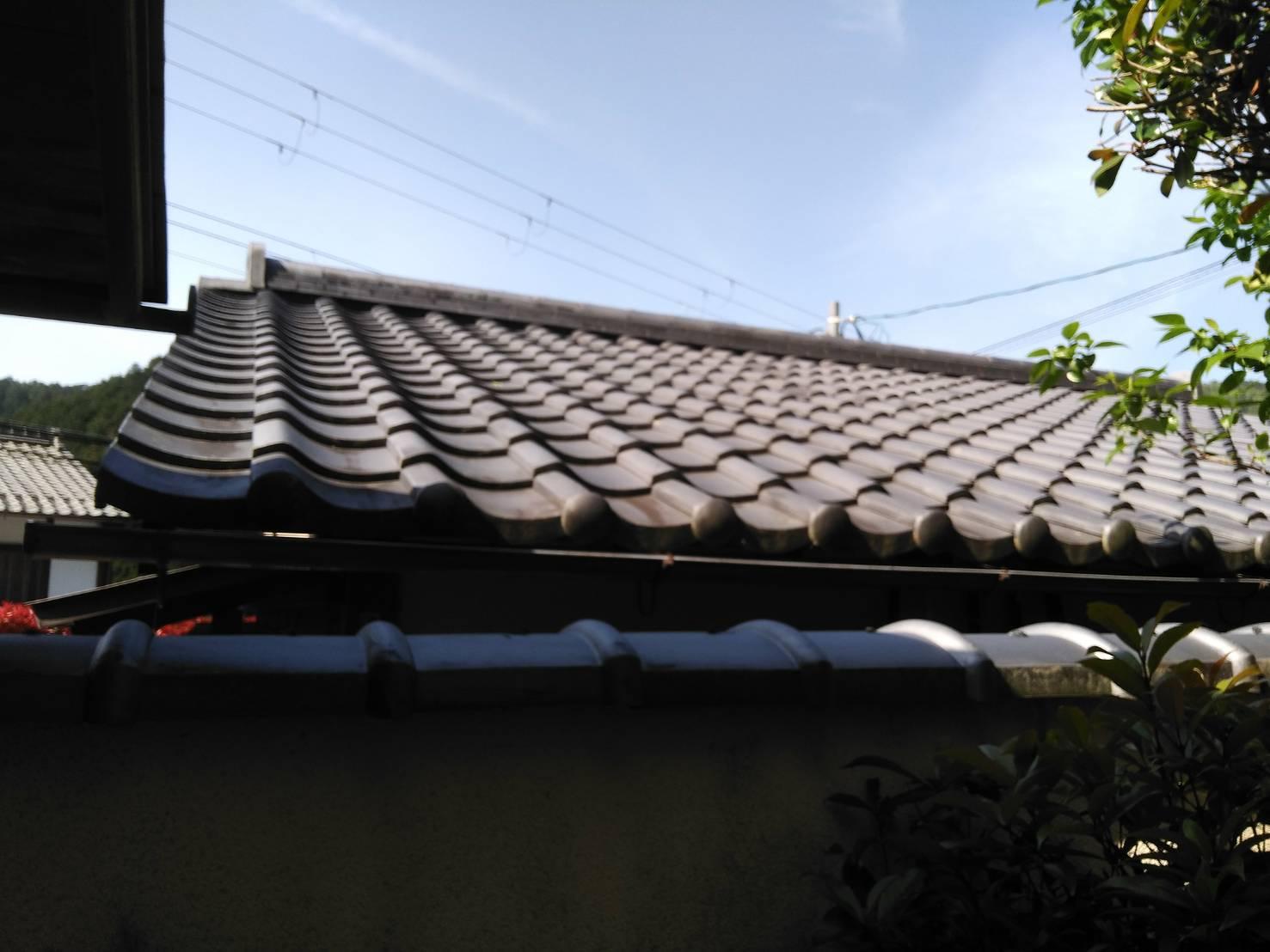 京都市左京区にて屋根工事 ~着工~
