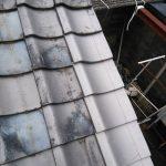 京都市南区にて屋根工事