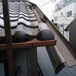 西成区にて屋根修理 ~瓦一部交換と樋修理~