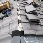 京都市左京区にて屋根工事