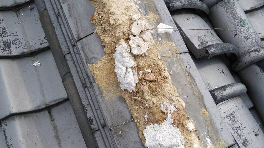 寝屋川市にて瓦の交換工事