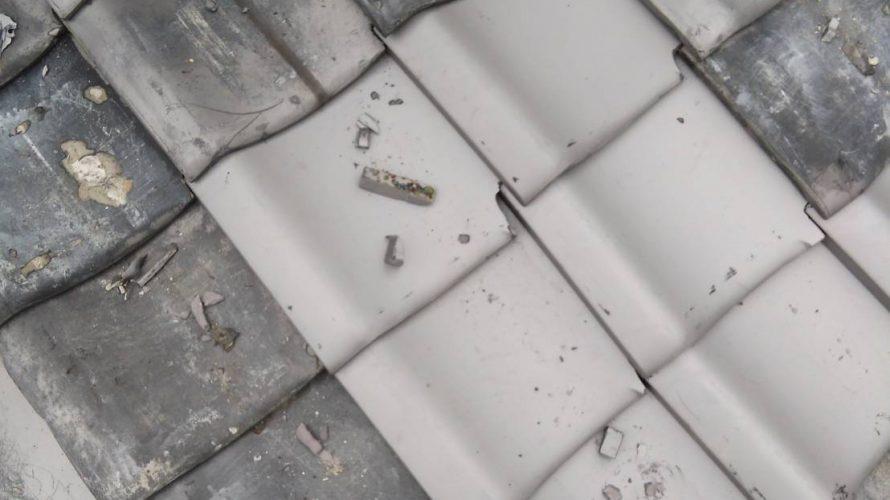 京都市右京区にて瓦屋根の差し替え工事