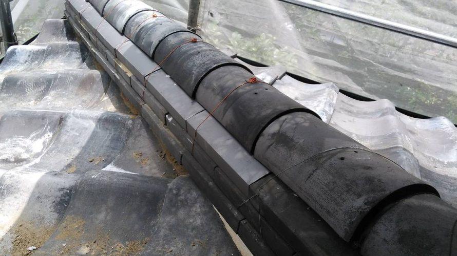 京都市右京区にて瓦屋根の差し替え工事完工