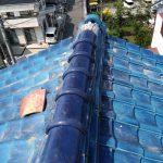 交野市にて屋根の補修工事