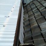 京都市中京区にて屋根修理