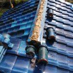 精華町にて屋根修理