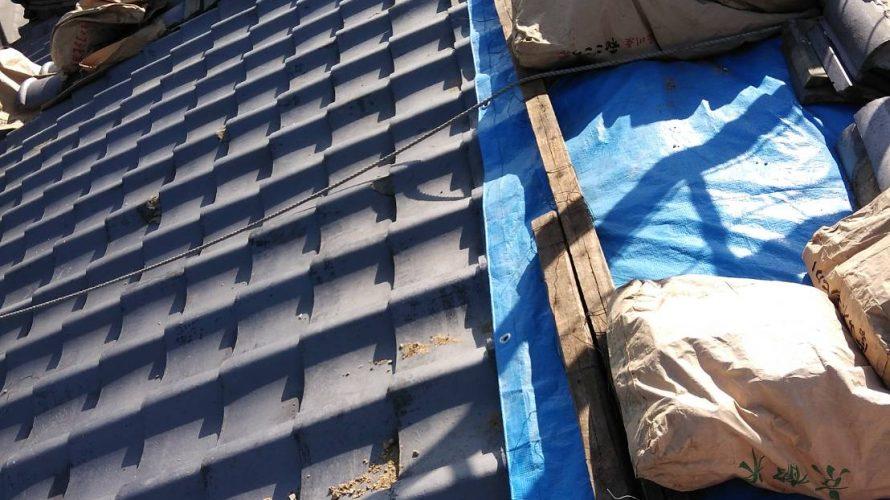 寝屋川市にて屋根修理(葺き替え) ~新調瓦葺き~