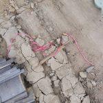 寝屋川市にて屋根修理(葺き替え) ~下屋根の解体~