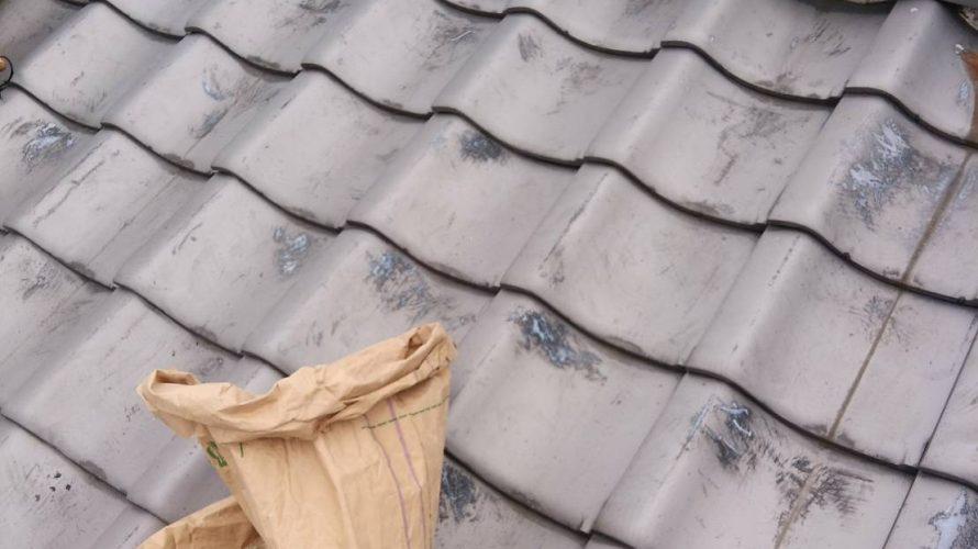 京都市左京区にて屋根修理(棟部分)
