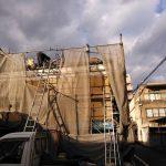 京都市下京区にて屋根修理(瓦の葺き替え工事)