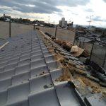 京都市下京区にて屋根修理(葺き替え工事)