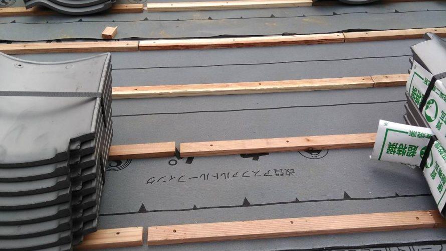 京都市右京区にて屋根の葺き替え工事