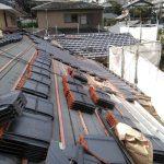 京都市左京区にて屋根の葺き替え工事  ~瓦葺き~