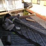 京都市西京区にて屋根補修工事