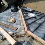 京都市左京区にて屋根修理