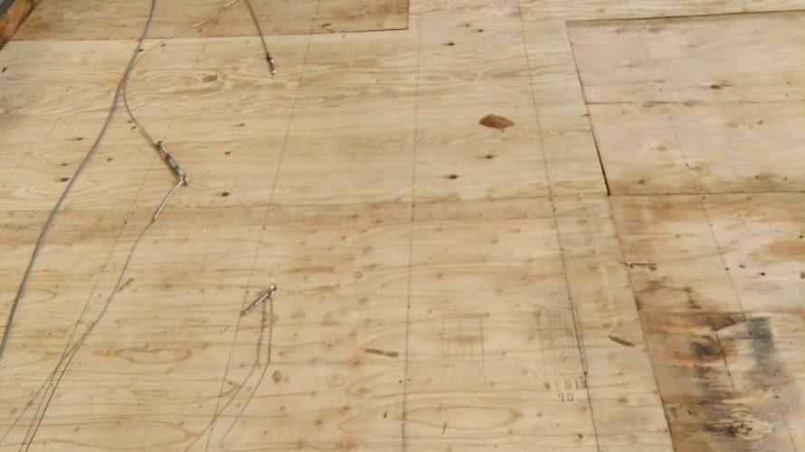 吹田市にて屋根修理 ~野地板の張り替え~