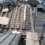 京都市下京区にて屋根補修工事