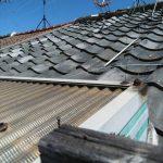 松原市にて屋根補修工事