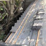 京都市上京区にて屋根修理 ~ルーフィング貼り~