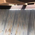 京都市下京区にて 瓦補修垂木替え工事