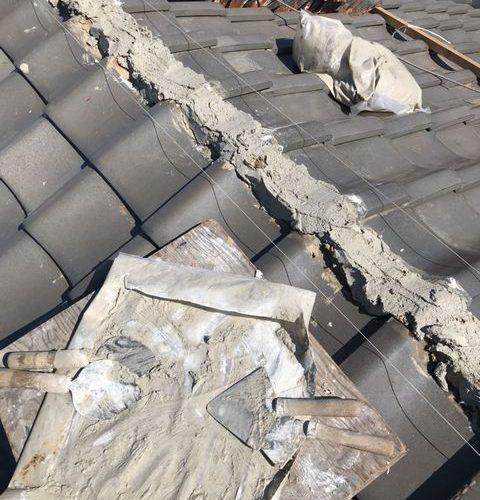 宇治市にて 屋根修理