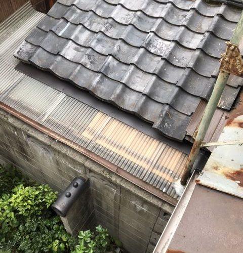 京都市下京区にて 点検補修工事