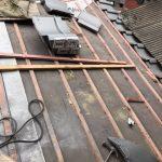 京都市下京区にて屋根修理