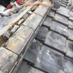 京都府宇治市にて 瓦屋根 棟補修工事