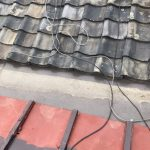 京都府宇治市にて 瓦屋根補修工事