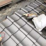宇治市にてトイレ屋根補修工事