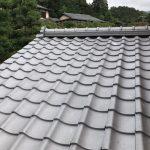 京都市西京区にて下屋根葺き替え工事