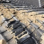 京都市北区にて瓦棟補修工事