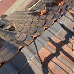 京都市上京区にて瓦屋根葺き替え工事